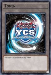 YCS Token Championship Blue  - TKN4-EN028 - Super Rare - Unlimited Edition