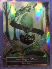 Wind Magic Stone Italian Full Art - PR012 - Holo Rare