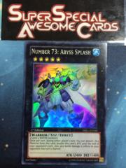Number 73: Abyss Splash - DRLG-EN040 - Super Rare - 1st Edition