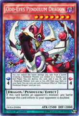 Odd-Eyes Pendulum Dragon - DUEA-EN004 - Ultimate Rare - 1st Edition