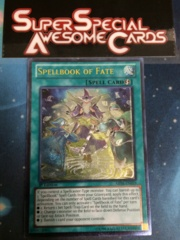 Spellbook of Fate - ABYR-EN059 - Ultimate Rare - 1st Edition