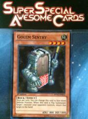 Golem Sentry - BPW2-EN014 - Super Rare - 1st Edition