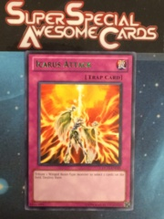 Icarus Attack - Green - DL11-EN020 - Rare - Promo Edition