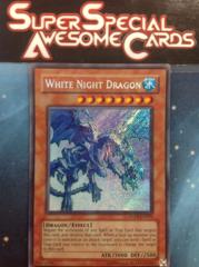 White Night Dragon - ANPR-EN092 - Secret Rare - Unlimited Edition