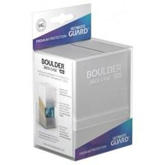 Ultimate Guard - Deck Case 80+ Boulder - Frosted