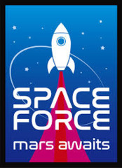 Space Force Sleeves (50CT)