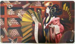 Azami, Lady of Scrolls - Playmat