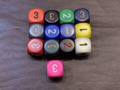 D3 Various Colours