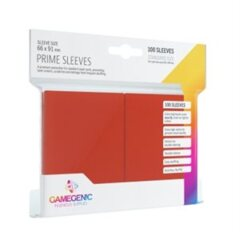 Gamegenic Prime Sleeves: Red