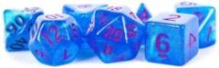 7 - Die Set 16mm Stardust:  Blue w/ Purple Numbers