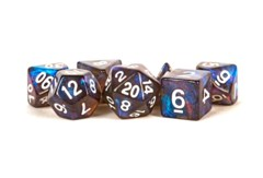16mm Acrylic poly dice set Stardust: Galaxy