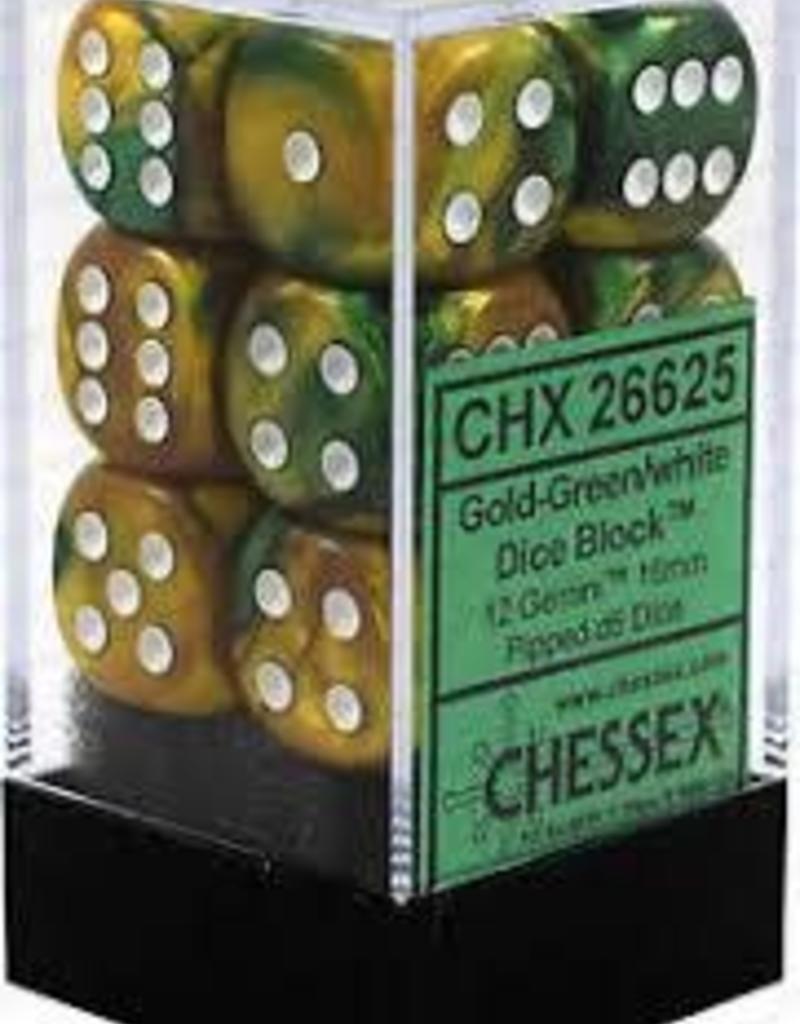 Gemini Gold-Green/white - CHX 26625