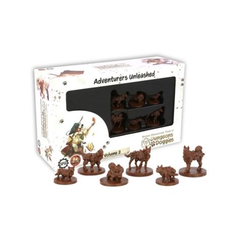 Animal Adventures: Tales of Dungeons & Doggies Vol. 2