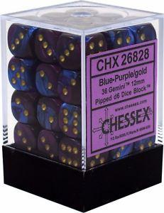 Gemini Blue-Purple/gold - CHX 26628