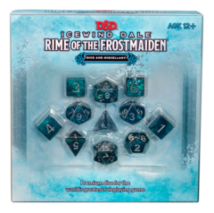 D&D 5th Edition: Icewind Dale- 11 Dice & Miscellany