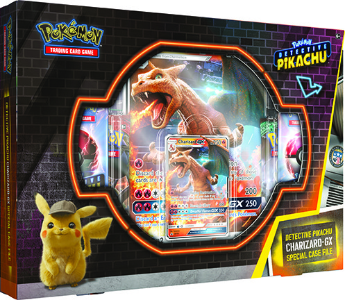 Detective Pikachu Chardizard-GX Special Edition case