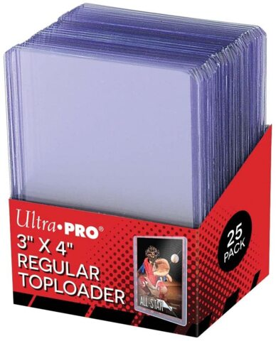 25ct 3 x 4 Ultra Pro Toploaders