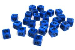 Army Dice Set #1 - 25 Count D6