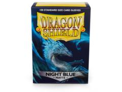 Dragon Shield Box of 100 in Matte Night Blue
