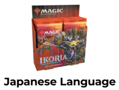 Ikoria: Lair of Behemoths Collector Booster Box - Japanese
