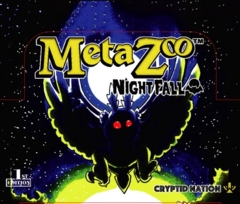 MetaZoo TCG: Nightfall Booster Box Display (36 Packs)