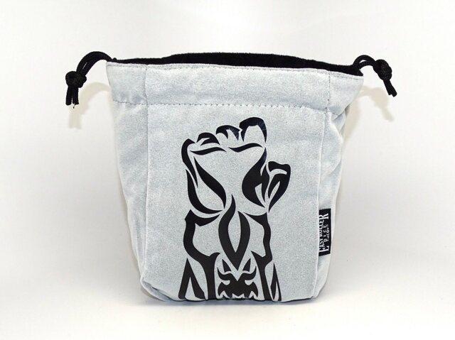 Gauntlet Reversible Microfiber Self-Standing Large Dice Bag