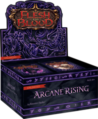 Arcane Rising Booster Box - Unlimited - Flesh and Blood - Ships 11/16/2020 - Preorder