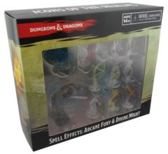 Dungeons And Dragons: Spell Effects Miniatures - Arcane Fury And Divine Might