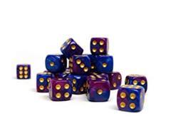 Easy Roller dice 12mm Purple Dawn