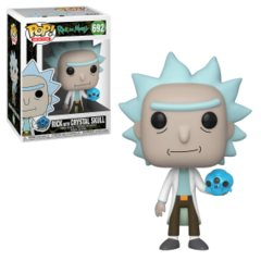 Funko Pop- Rick with Crystal Skull