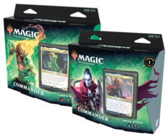 Magic the Gathering: Zendikar Rising - Commander Deck Set (Set of 2)