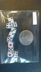 10 Count Tiny Dice