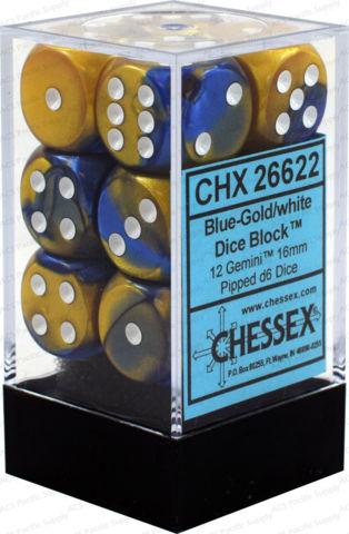 Gemini Blue-Gold/White - CHX 26622
