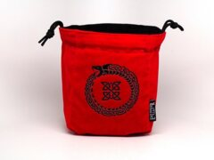 Ouroboros Reversible Microfiber Self-Standing Large Dice Bag