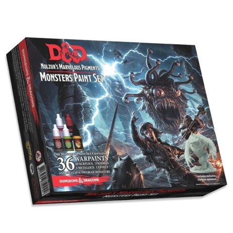 Nolzurs Marvelous pigments / Monsters paint set