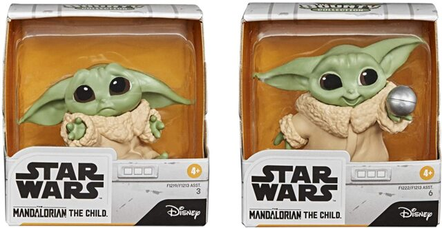 "Star Wars The Bounty Collection The Child Collectible Toys 2.2-Inch The Mandalorian ""Baby Yoda"" Don't Leave, Ball Toy Figure 2-P"