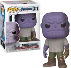 Funko Avengers Endgame POP! Marvel Casual Thanos Vinyl Bobble Head [Gaunlet]