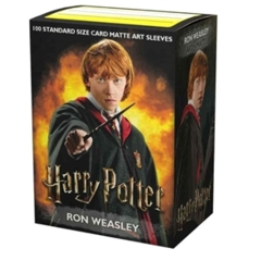 Dragon Shield Sleeves: Standard - Matte 'Ron Weasley' Art Limited Edition (100ct.)