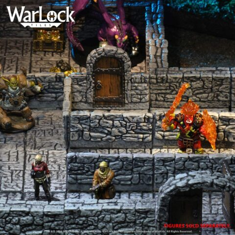 Warlock Tiles - Dungeon Tiles 1
