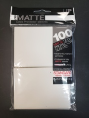 Pro Matte Deck Protector sleeves - 100 Ct White