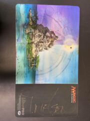 Signed Terese Nielsen Guru Island playmat!