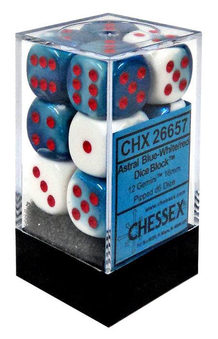 Gemini Blue-White/red - CHX 26657