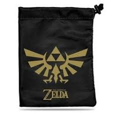 Ultra Pro - The Legend of Zelda: Black & Gold Treasure Nest