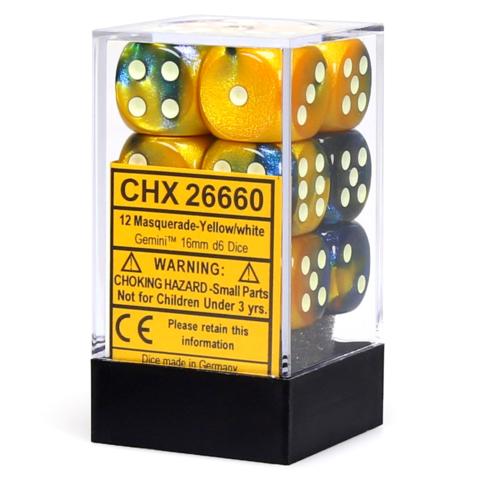 Gemini Masquerade-Yellow/white - CHX 26660