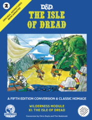 D&D The Isle of Dread: A Fifth Edition Conversion & Classic Homage