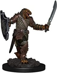 DUNGEONS AND DRAGONS: ICONS OF THE REALM PREMIUM FIGURE - FEMALE DRAGONBORN PALADIN