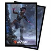 Ultra Pro: Kaldheim 100ct Sleeves featuring Kaya the Inexorable