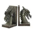 Fierce Dragon Bookend Set