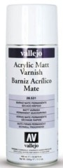 Acrylic Matt Varnish 400ml Spray