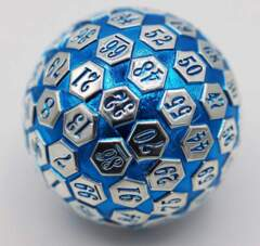 45mm Metal D100 Blue and Silver
